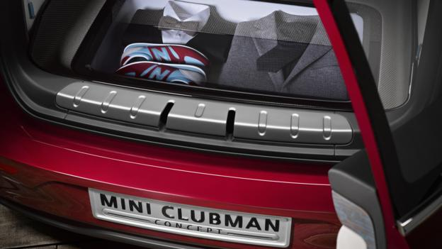 Mini Clubman Concept (Credit: BMW Group)
