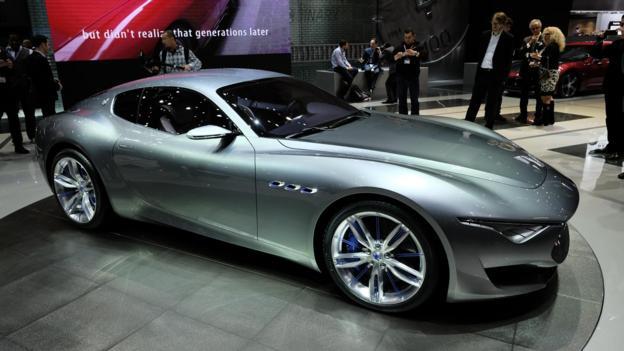 Maserati Alfieri Concept (Credit: Newspress)