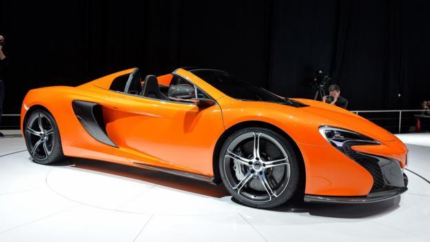 McLaren 650S Spider (Credit: Newspress)