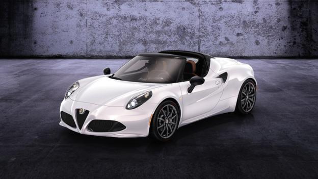 Alfa Romeo 4C Spider (Credit: Fiat Group)