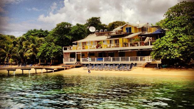 Beachfront charm (Credit: Beach House Roatan)