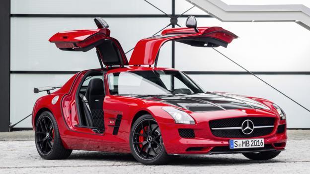 Mercedes-Benz SLS AMG GT Final Edition (Credit: Daimler)