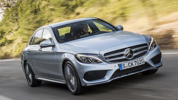 2015 Mercedes-Benz C-Class (European spec) (Credit: Daimler)
