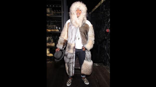 Fur-rell (Credit: Victor Boyko/French Select via Getty Images for Moncler)
