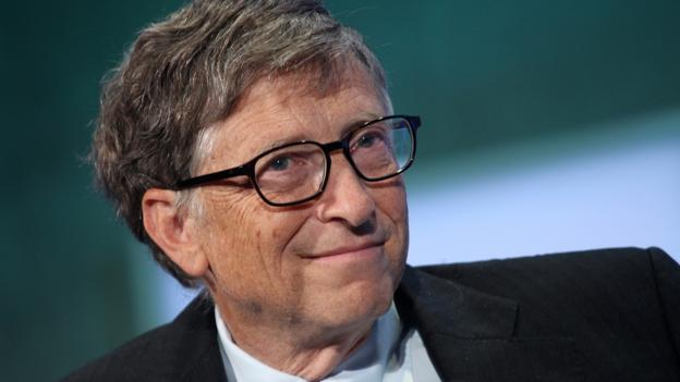 Bill Gates's early Microsoft employees made millions. (Mehdi Taamallah/AFP/Getty Images)