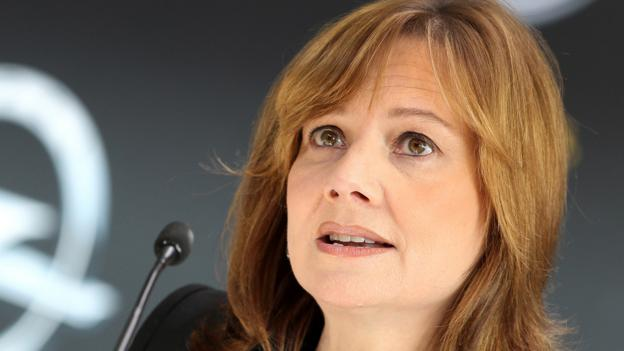 GM CEO Mary Barra (Daniel Roland/AFP/Getty Images)