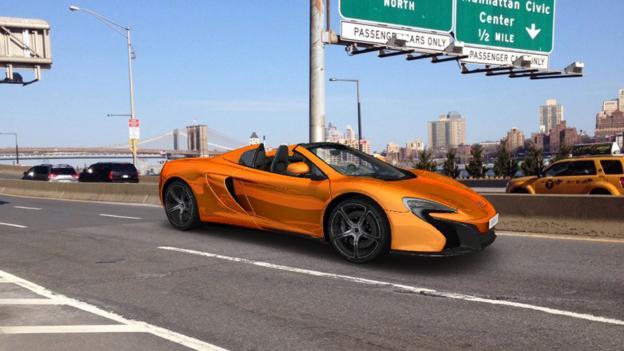 Digital dreams (Credit: McLaren Automotive)