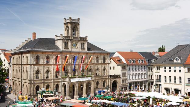 Markt Square (Credit: Weimar Tourism)