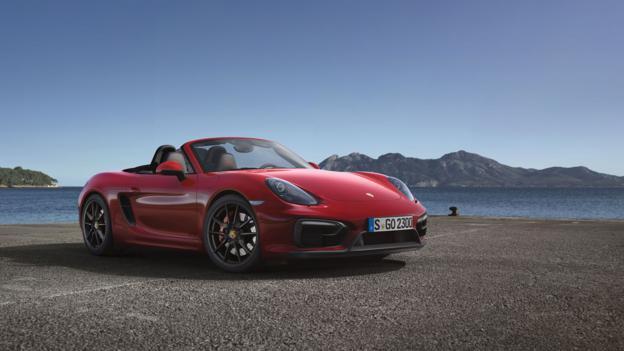 Porsche Boxster GTS (Credit: Porsche Cars North America)