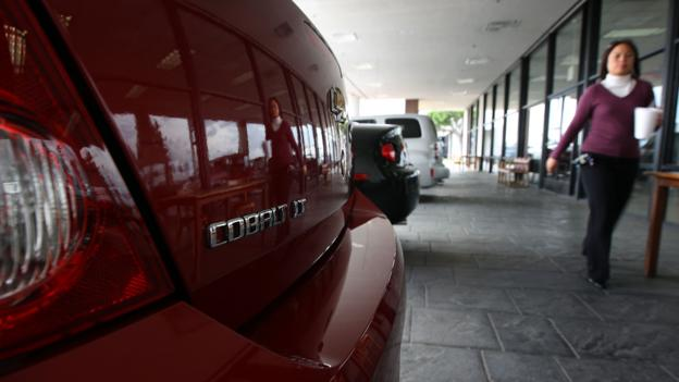 Chevrolet Cobalt (Credit: David McNew/Getty)