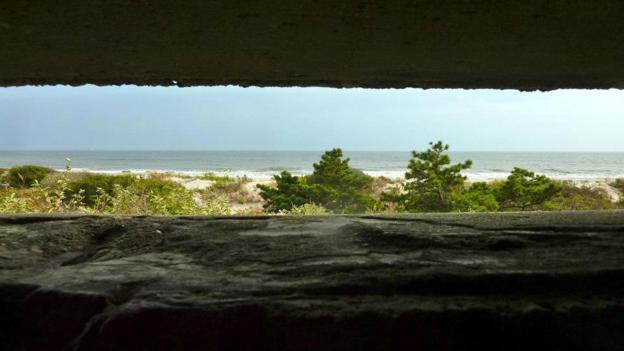 View from the pillbox (Credit: Brad Cohen)