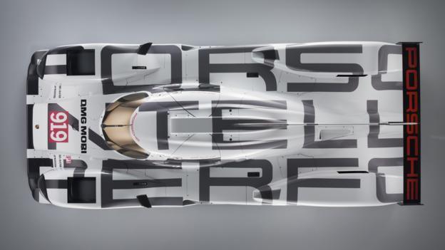 Porsche 919 Hybrid (Credit: Porsche Motorsport)