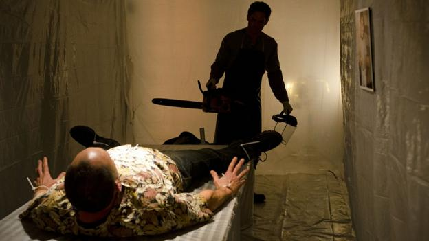 A still from Dexter