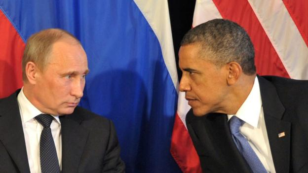 Presidents Putin and Obama fail to reach an understanding. (Getty Images/AFP)
