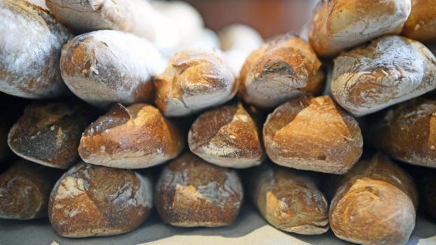 Fresh, French baguettes (Credit: Martin Bureau/AFP/Getty)