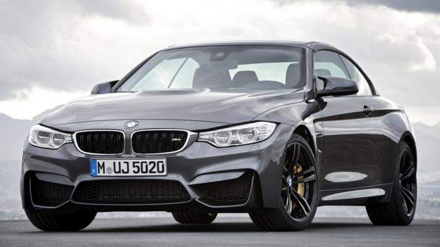 2015 BMW M4 Convertible (Credit: BMW Group)