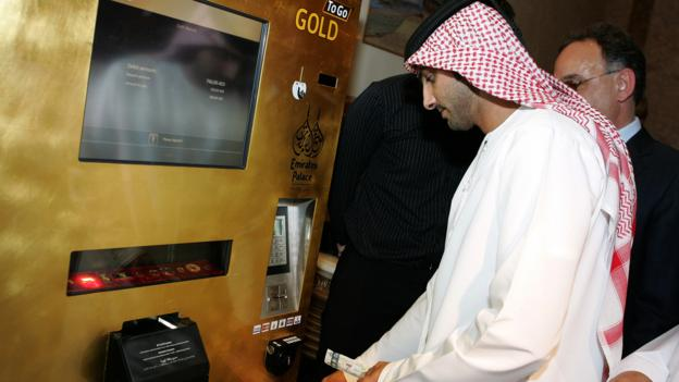 Gold rush (Credit: Ebrahim Adaway/AFP/Getty Images)