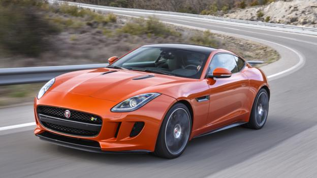 2015 Jaguar F-type R Coupe (Credit: Jaguar Cars)