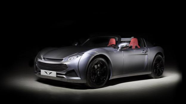 Pariss Electric Roadster (Credit: Pariss)