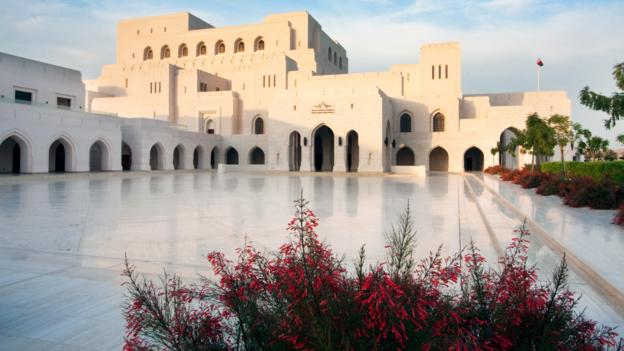 The sultan's crowning glory (Credit: Khalid AlBusaidi/Royal Opera House Muscat)