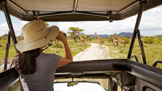 On safari (Credit: Michal Venera/Getty)