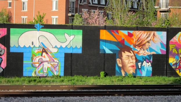 Murals in West Queen West (Credit: David G Allan)