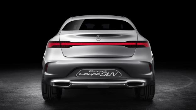 Mercedes-Benz Concept Coupé (Credit: Daimler)