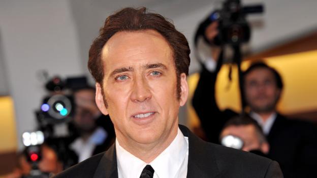 Nicolas Cage (Camilla Morandi/Rex)