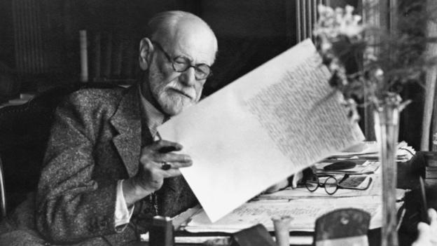 Sigmund Freud in 1920 (Corbis)