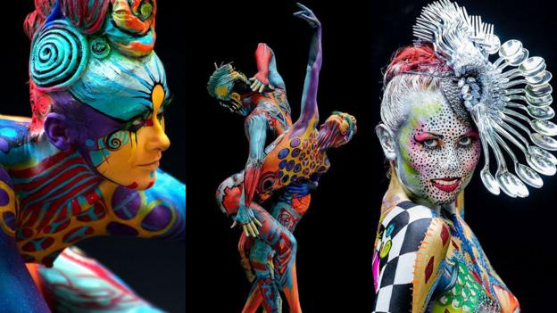 World Bodypainting Festival 2013 (Credit: Silvia Gonzales; Christian Groaypietsch; Guinther Floick/World Bodypainting Festival)