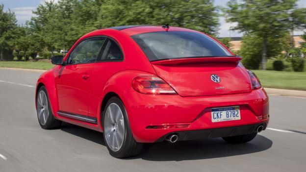 2014 Volkswagen Beetle R-Line (Credit: Volkswagen of America)