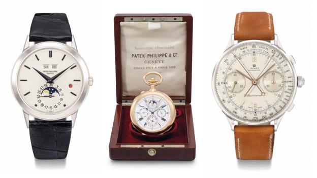 Treasured timepieces (Credit: Christie's)