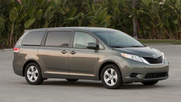 Minivans (Credit: Toyota Motor Sales)