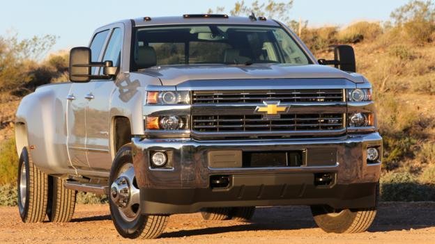 Pick-up trucks (Credit: General Motors)