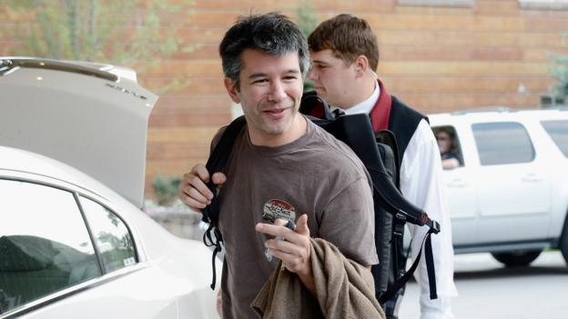 Travis Kalanick, CEO and co-founder of Uber (Credit: Kevork Djansezian/Getty)