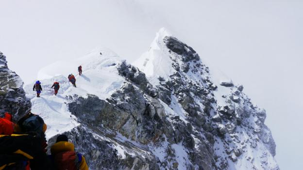 Climbing Everest requires a clear path for success. So does a career. (Garrett Madison)