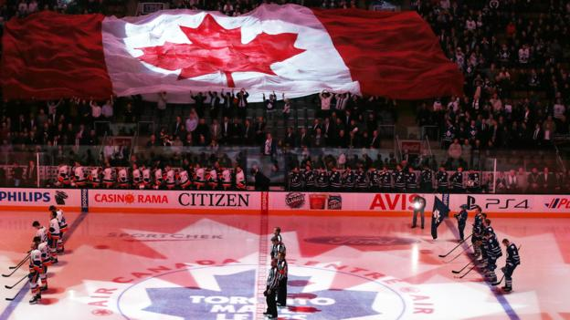 O Canada (Credit: Steve Russell/Getty)