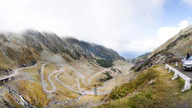 Transfagarasan Road, Romania (Credit: Hutch Axilrod/Getty)