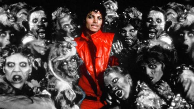 A still from Michael Jackson's Thriller