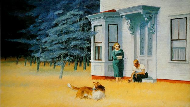Cape Cod Evening by Edward Hopper (Alamy)