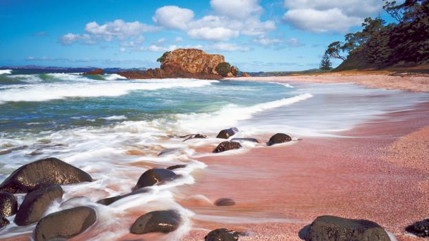 Pink Beach at Kauri Cliffs (Credit: Kauri Cliffs)