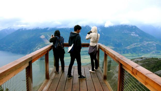 Viewing platform vistas (Credit: John Lee)
