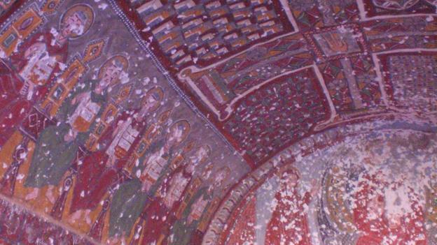 Byzantine remnants (Credit: Jess Lee)