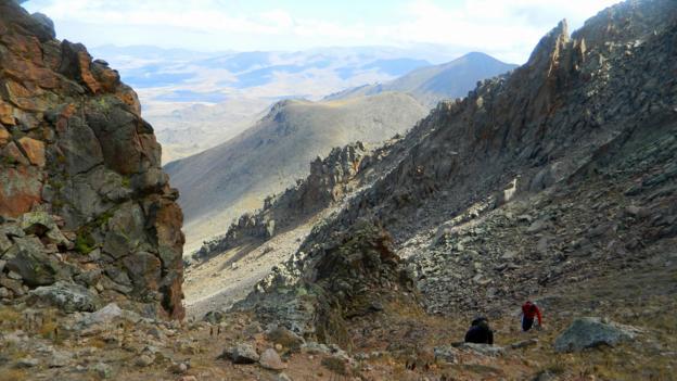 Towards the summit (Credit: Jess Lee)
