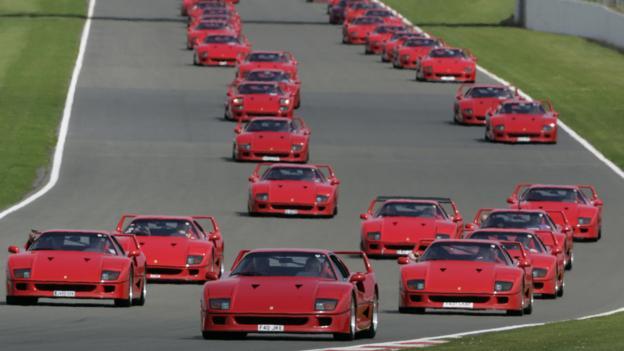 Ferrari F40 (Credit: Newspress)