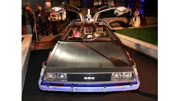 DeLorean DMC-12 (Credit: Charles Eshelman/FilmMagic/Getty)