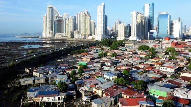 Panama City's paradox (Credit: Rodrigo Arangua/AFP/Getty)