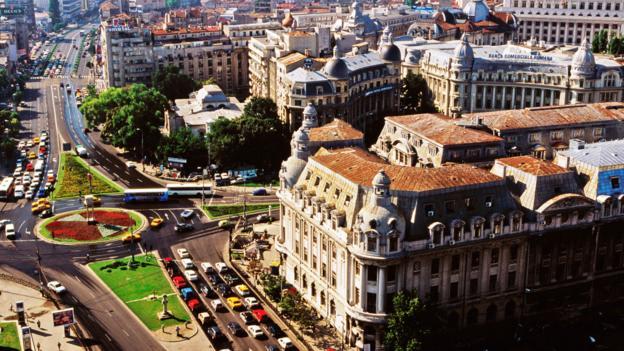 Bucharest's boulevards (Credit: Richard I'Anson/Getty)