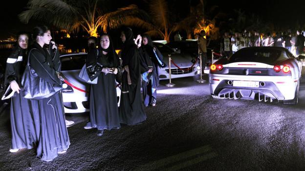 Luxury cars in Jeddah (Credit: Amer HIlabi/AFP/Getty)