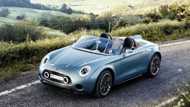 Mini Superleggera Vision concept (Credit: BMW Group)